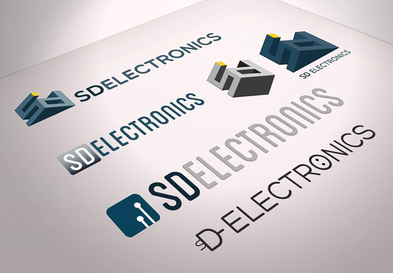 logo design sd electronics